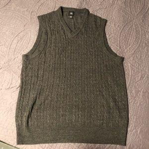 Dockers Sweater Vest   Gray   Medium